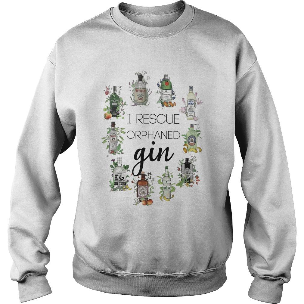 I Rescue Orphaned Gin Sweater