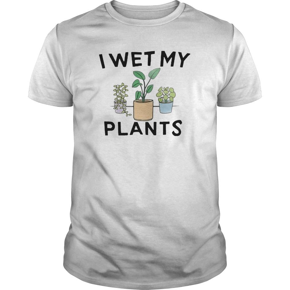 I Wet My Plants Longsleeve