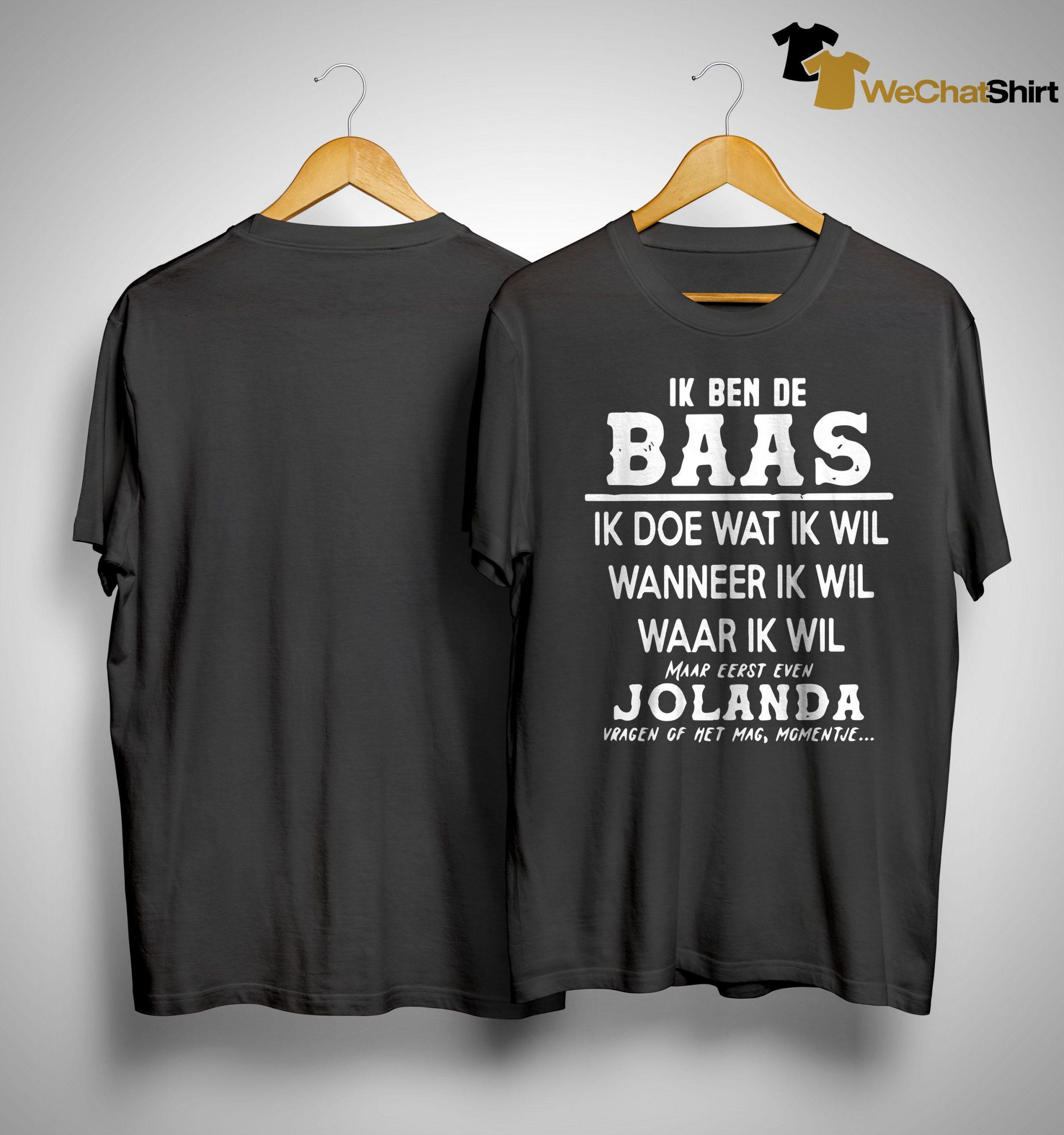 Official Ik Ben De Baas Ik Doe Wat Ik Wil Wanneer Ik Wil