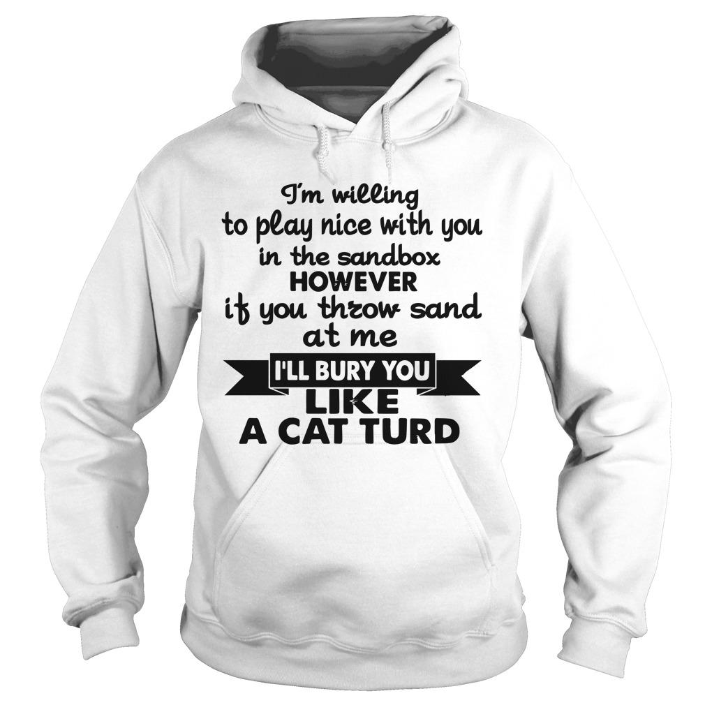 I'm Willing To Play Nice With You In The Sandbox Hoodie