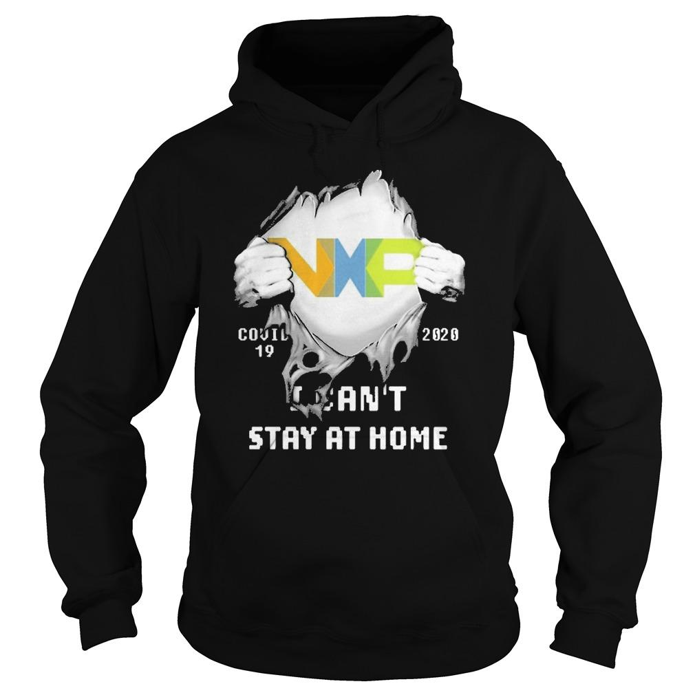 Inside Me Nxp Covid 19 2020 I Can't Stay At Home Hoodie