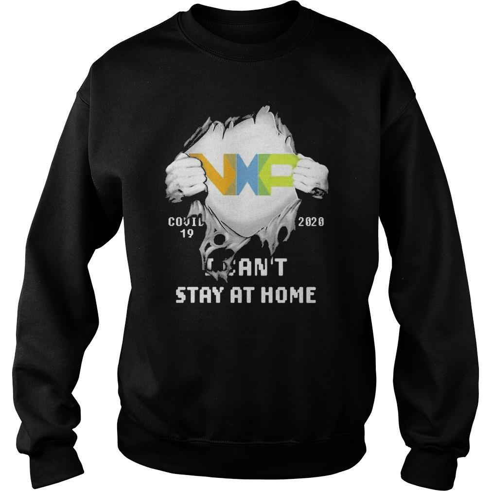 Inside Me Nxp Covid 19 2020 I Can't Stay At Home Sweater