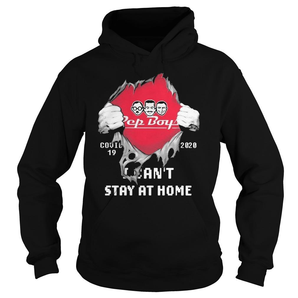 Inside Me Pep Boys Covid 19 2020 I Can't Stay At Home Hoodie