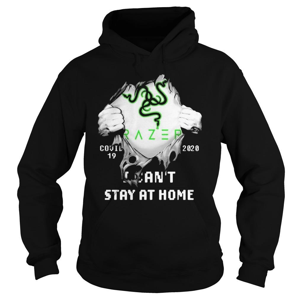 Inside Me Razer Covid 19 2020 I Can't Stay At Home Hoodie