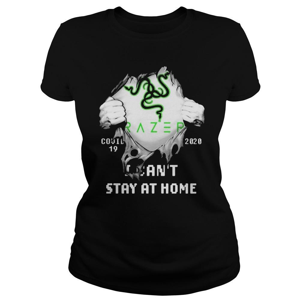 Inside Me Razer Covid 19 2020 I Can't Stay At Home Longsleeve