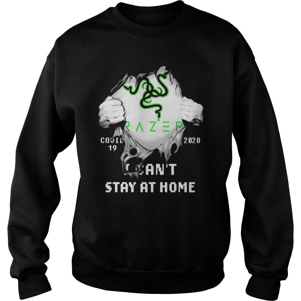 Inside Me Razer Covid 19 2020 I Can't Stay At Home Sweater