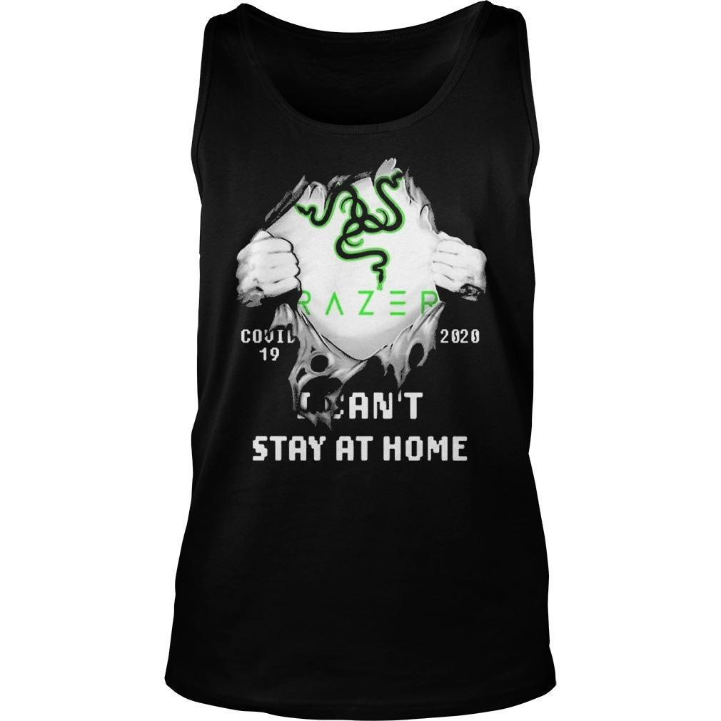 Inside Me Razer Covid 19 2020 I Can't Stay At Home Tank Top