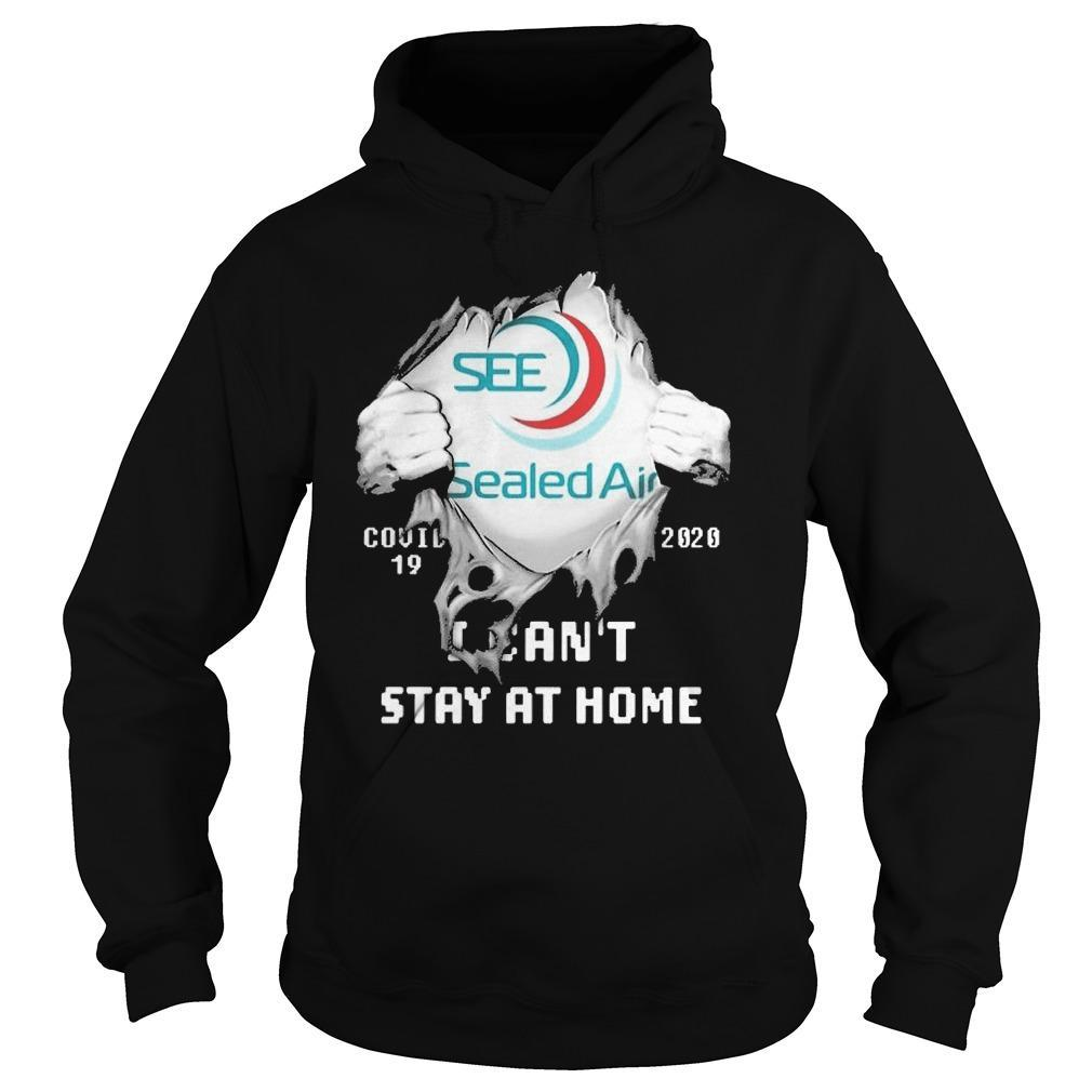 Inside Me Sealed Air Covid 19 2020 I Can't Stay At Home Hoodie