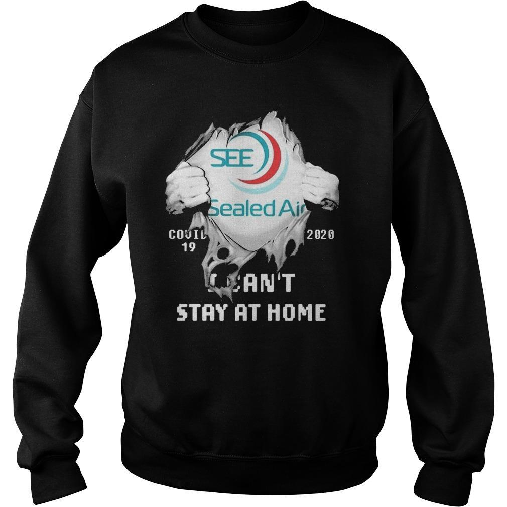 Inside Me Sealed Air Covid 19 2020 I Can't Stay At Home Sweater