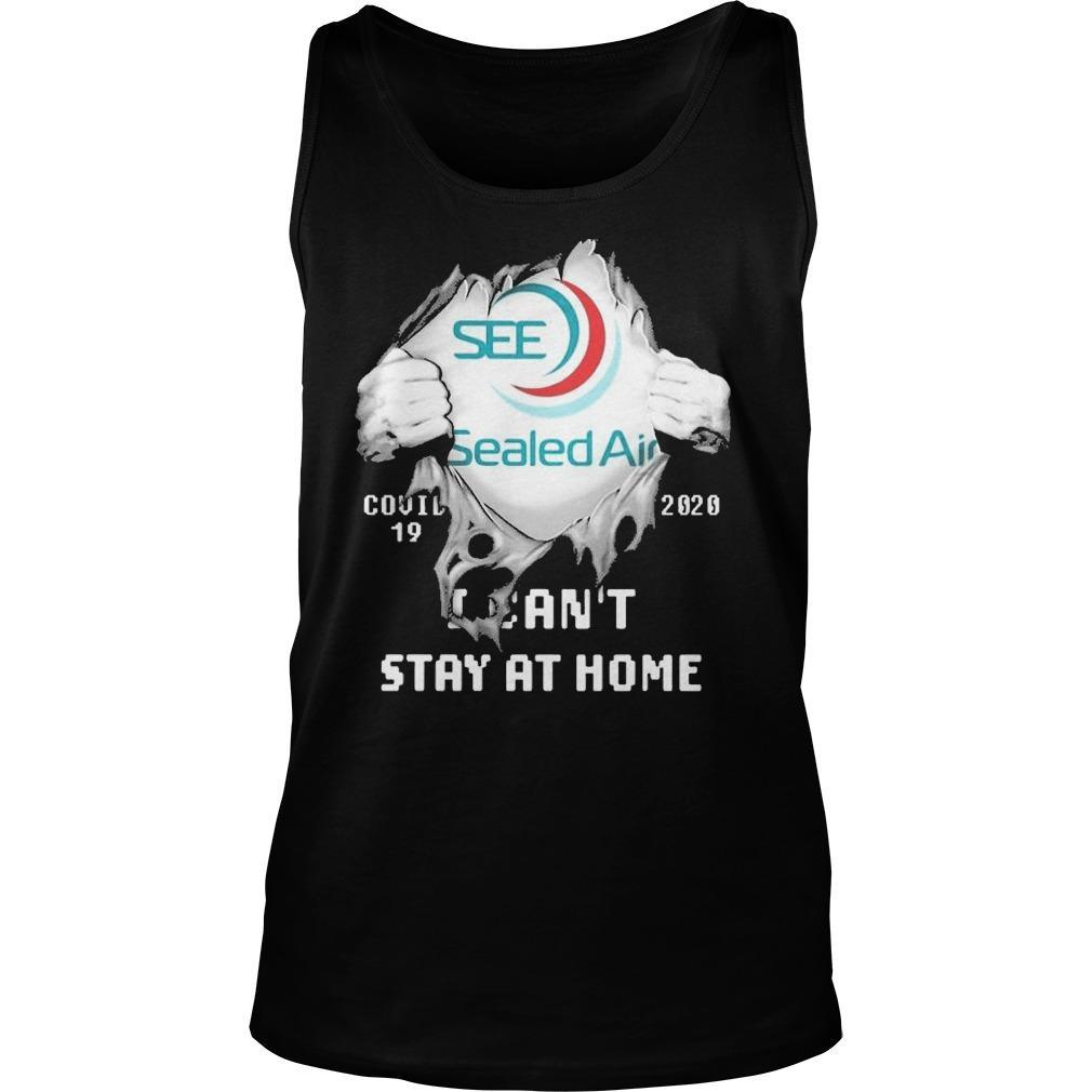 Inside Me Sealed Air Covid 19 2020 I Can't Stay At Home Tank Top