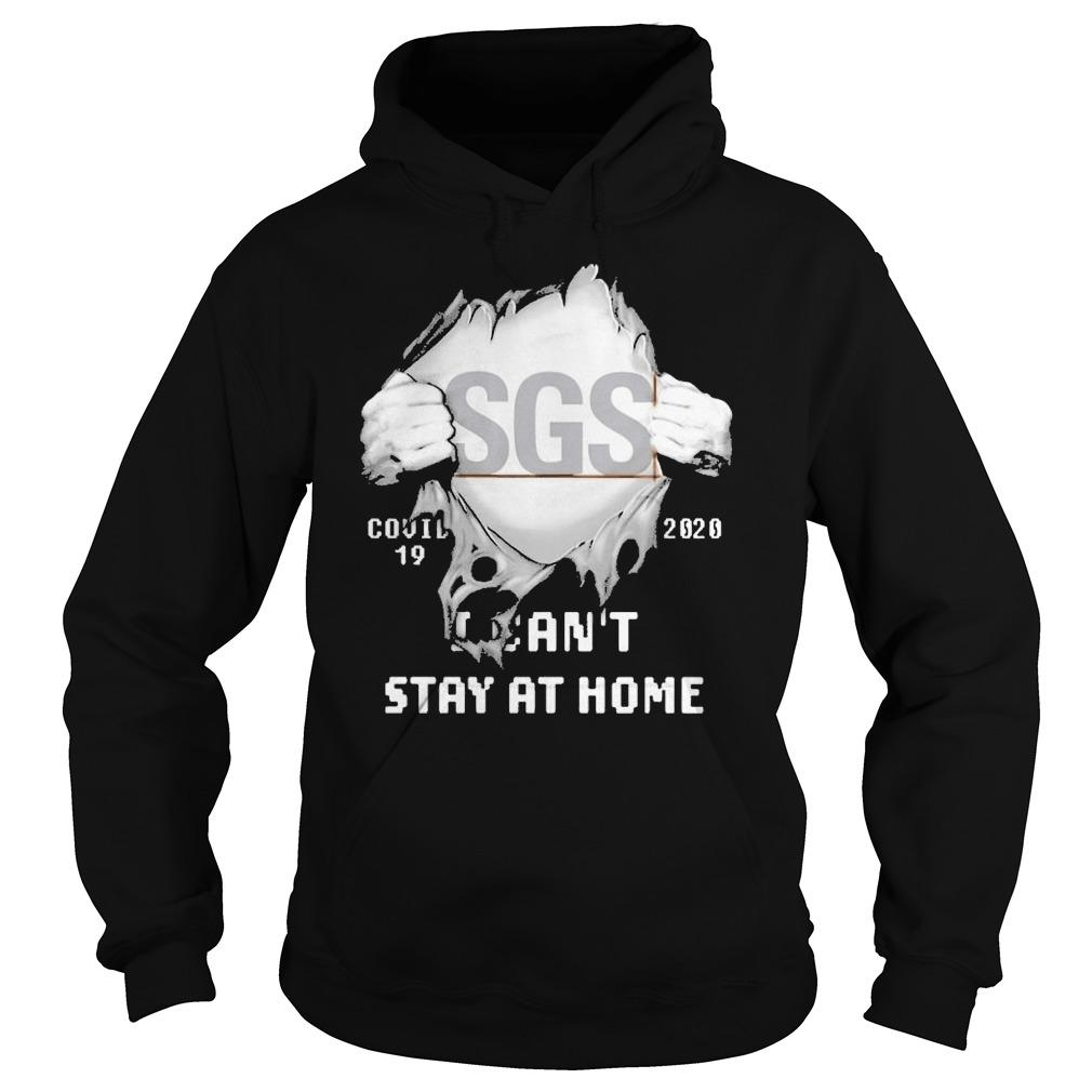 Inside Me Sgs Covid 19 2020 I Can't Stay At Home Hoodie