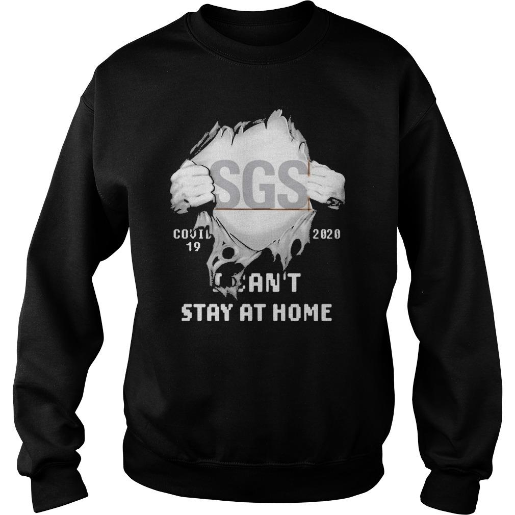 Inside Me Sgs Covid 19 2020 I Can't Stay At Home Sweater