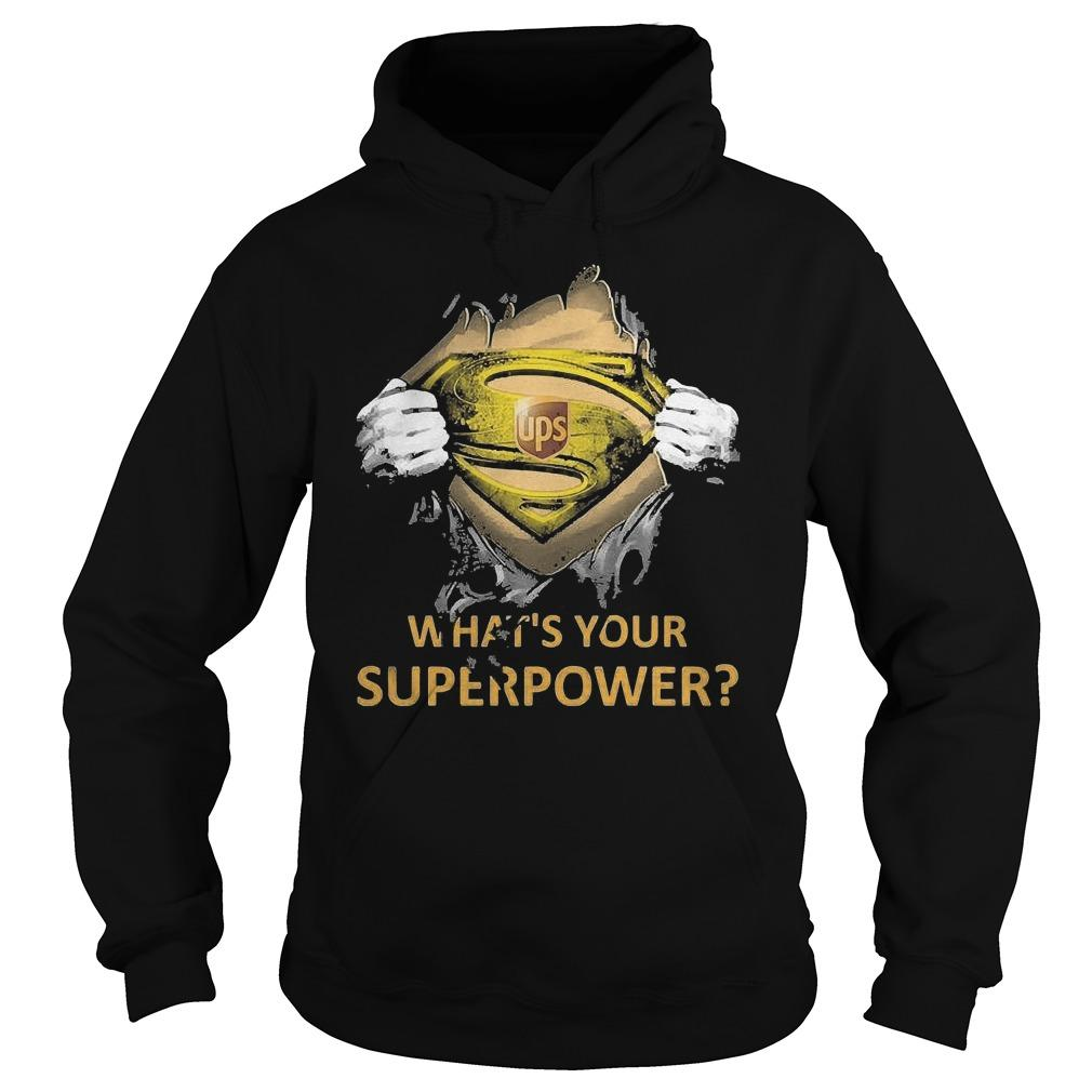 Inside Me Ups What's Your Superpower Hoodie