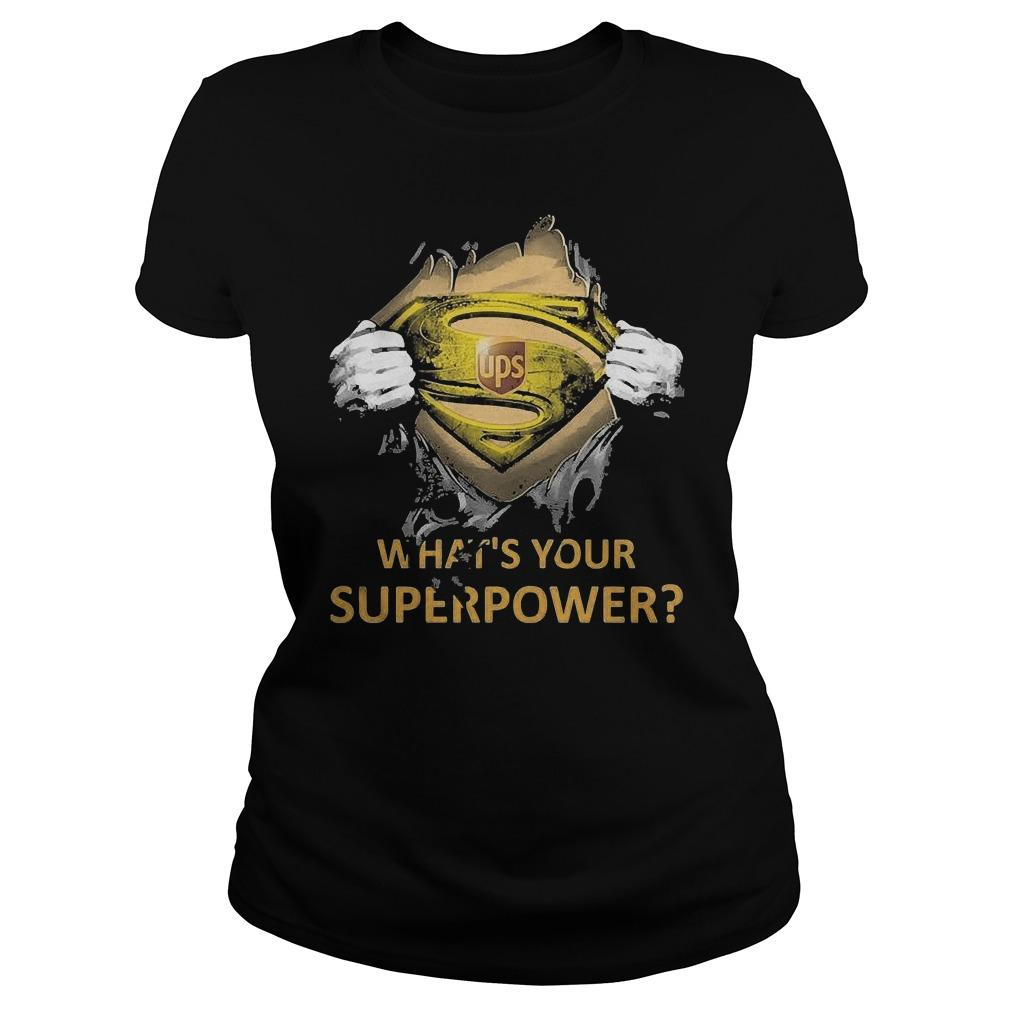 Inside Me Ups What's Your Superpower Longsleeve