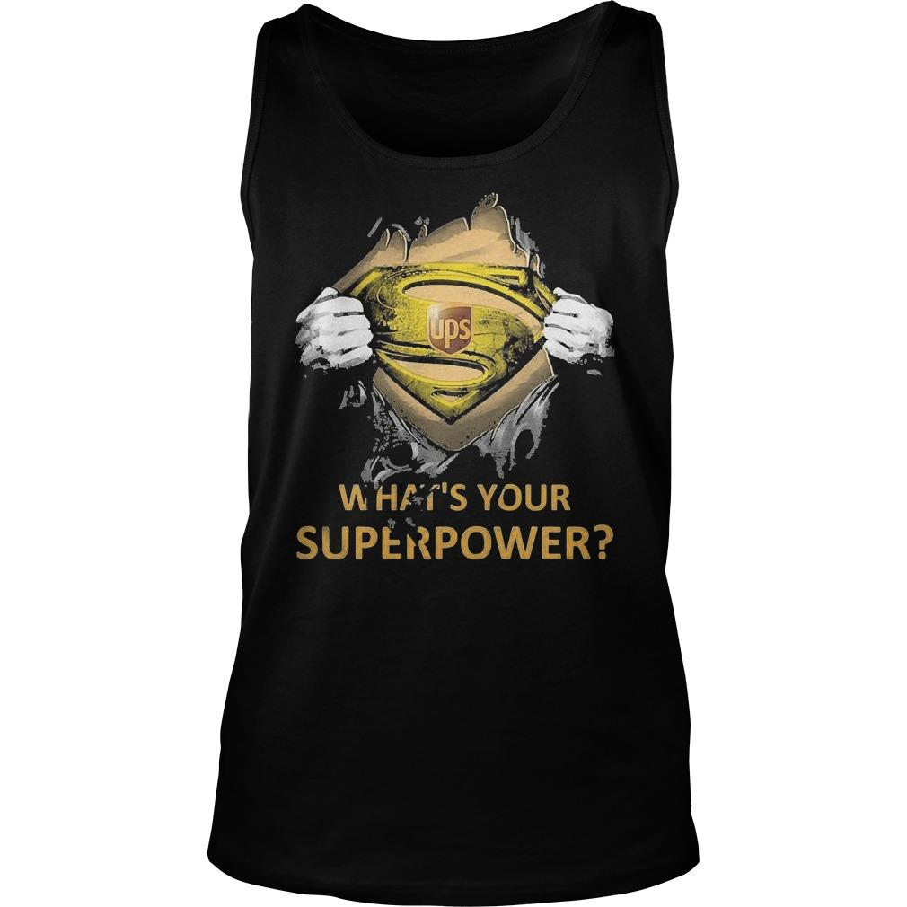 Inside Me Ups What's Your Superpower Tank Top