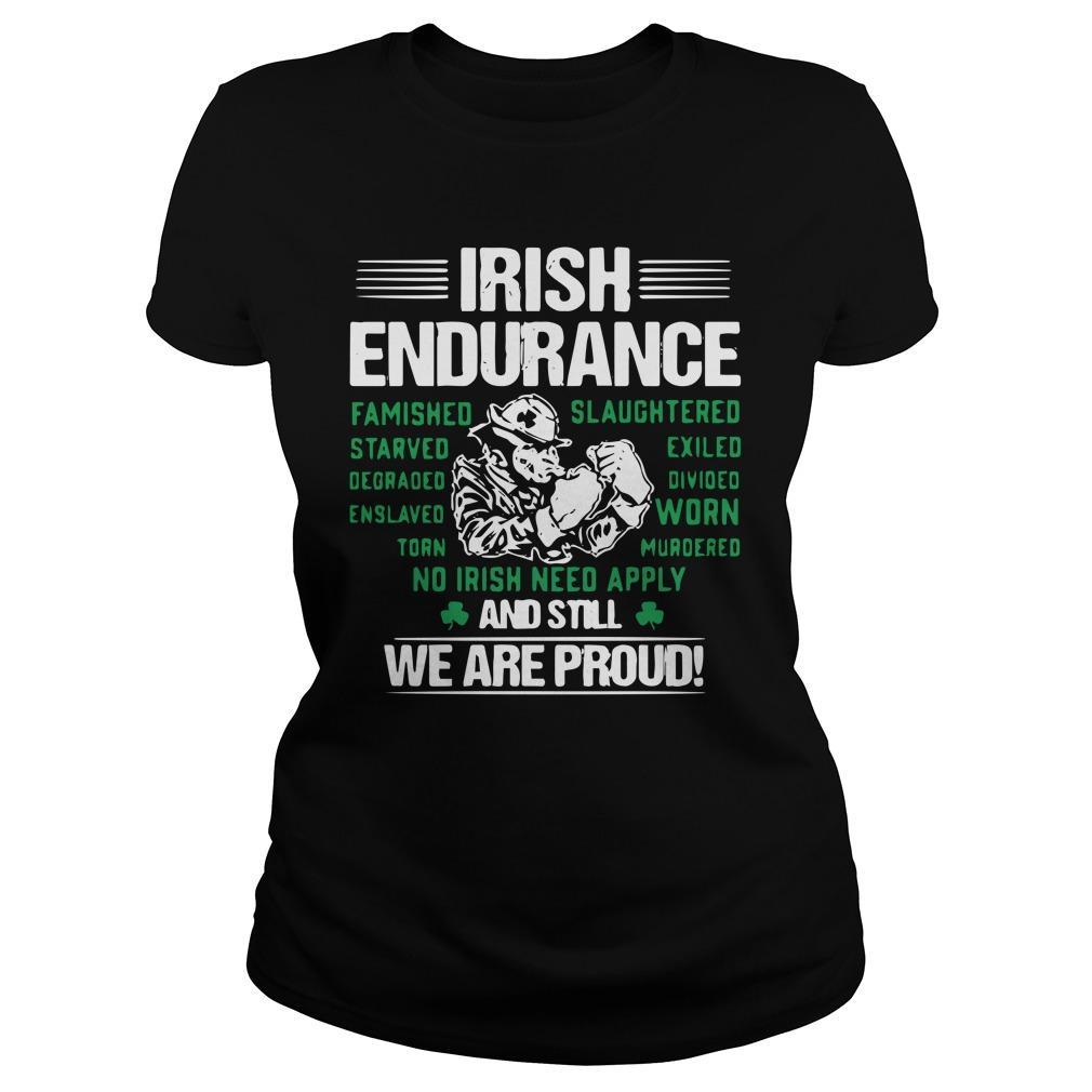 Irish Endurance And Still We Are Proud Longsleeve