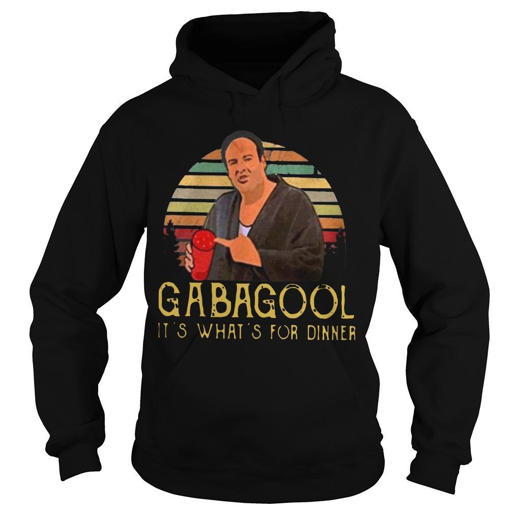 It's What's For Dinner Gabagool Hoodie