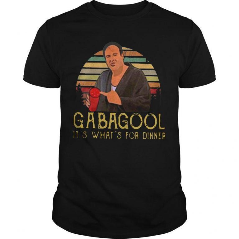 It's What's For Dinner Gabagool Shirt