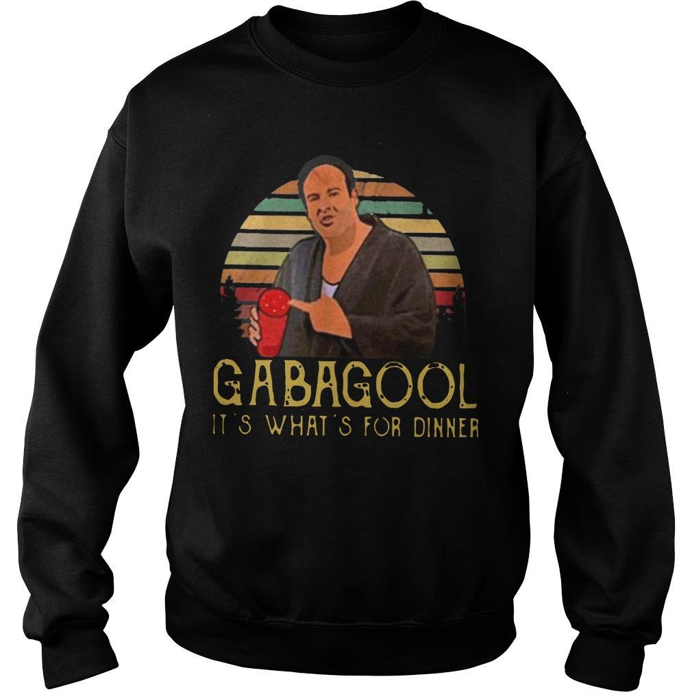It's What's For Dinner Gabagool Sweater