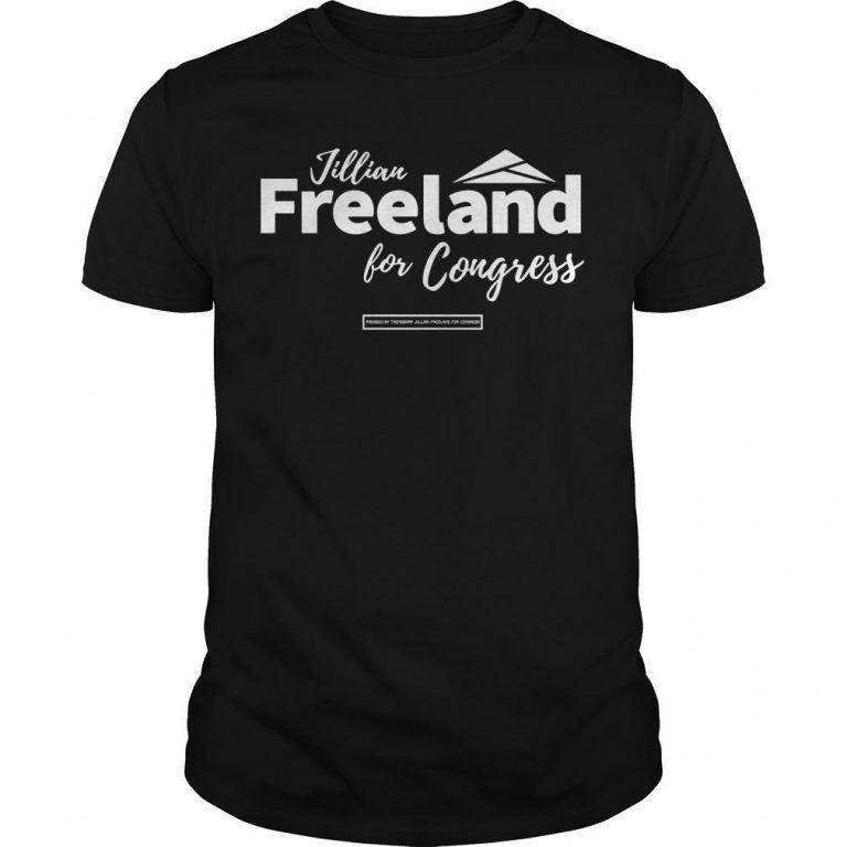 Jillian Freeland For Congress Shirt