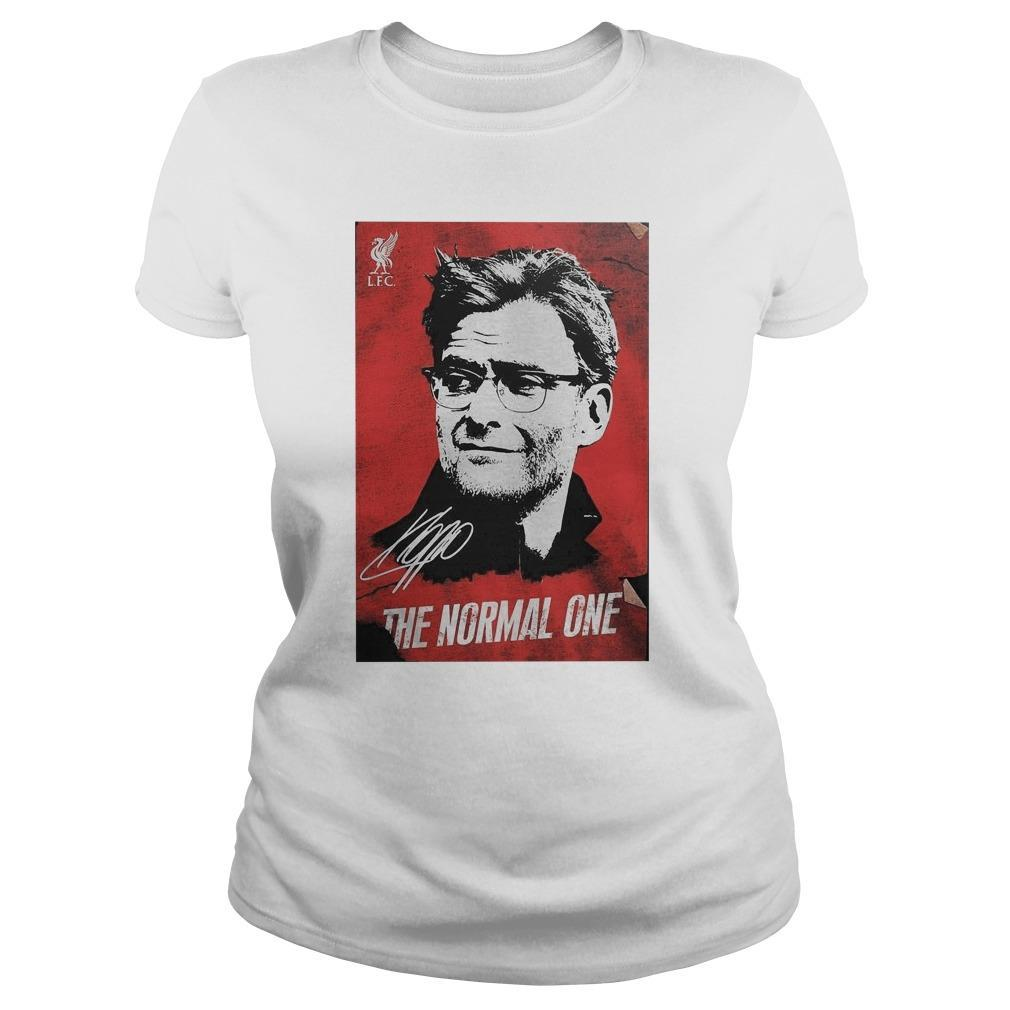 Jurgen Klopp The Normal One Signature Hoodie