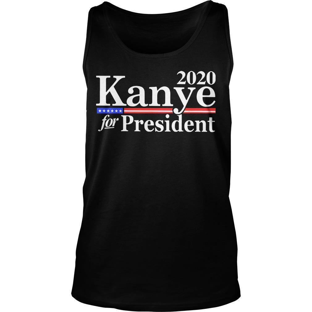 Kanye West For President Tank Top