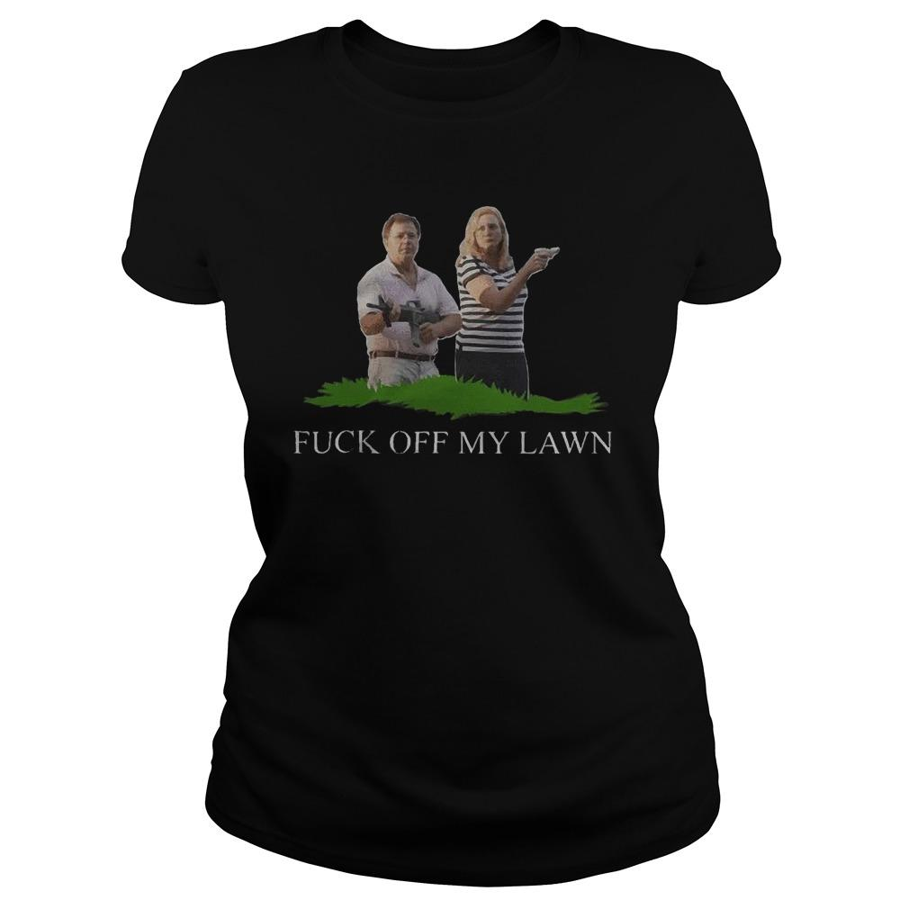 Ken And Karen Guns Fuck Off My Lawn Longsleeve