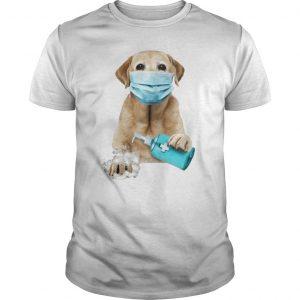 Labrador Retriever Face Mask Wash Your Hands Ew People Shirt
