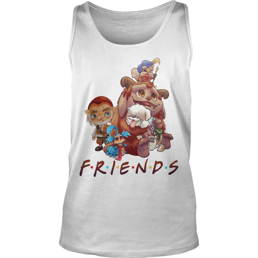 Labyrinth Characters Friends Tank Top