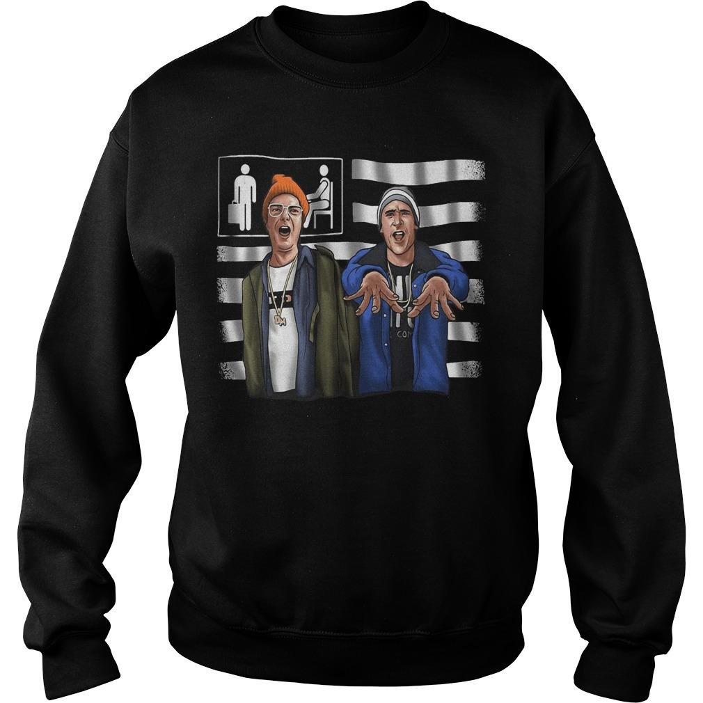 Lazy Scranton Once Upon Sweater