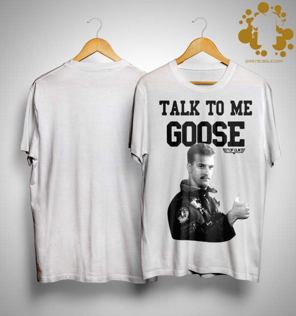 Licenza Ufficiale Talk To Me Goose Top Gun Shirt