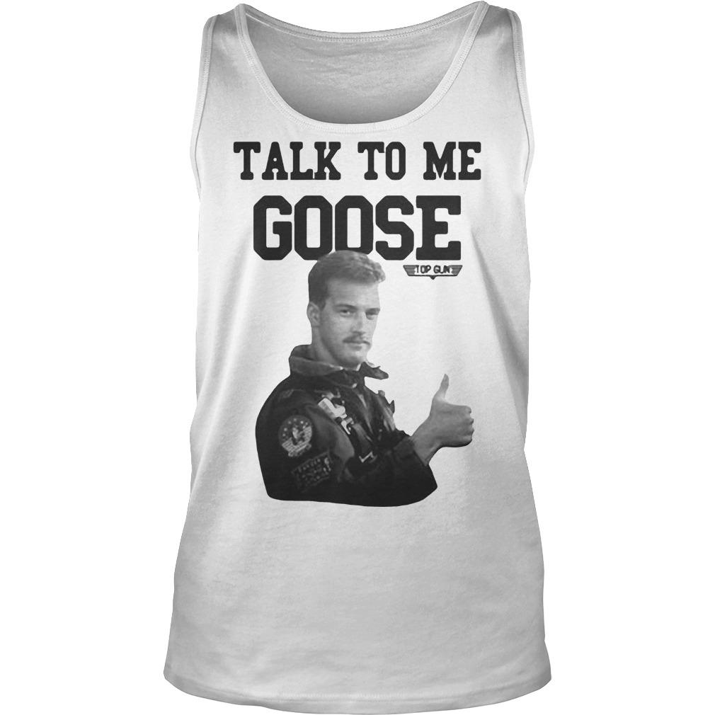 Licenza Ufficiale Talk To Me Goose Top Gun Tank Top