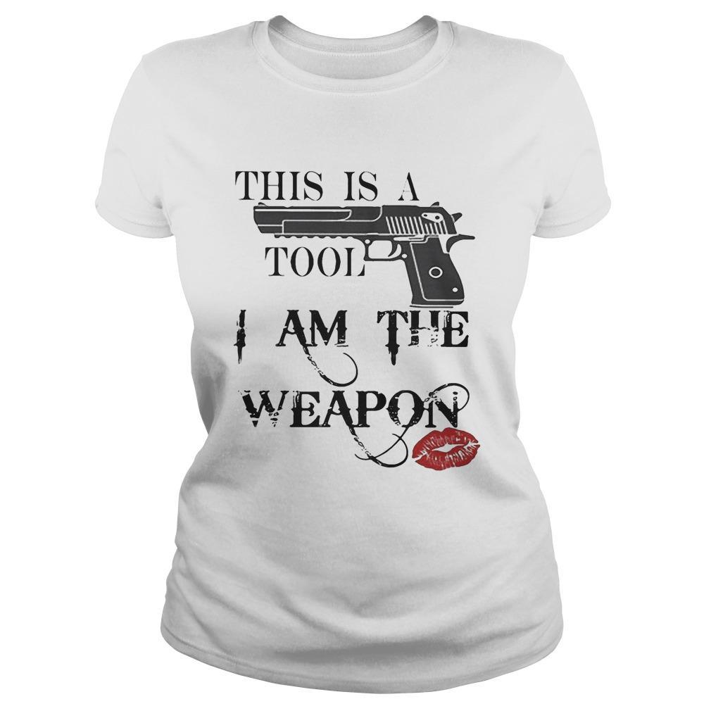 Lipstick Gun This Is A Tool I Am The Weapon Longsleeve