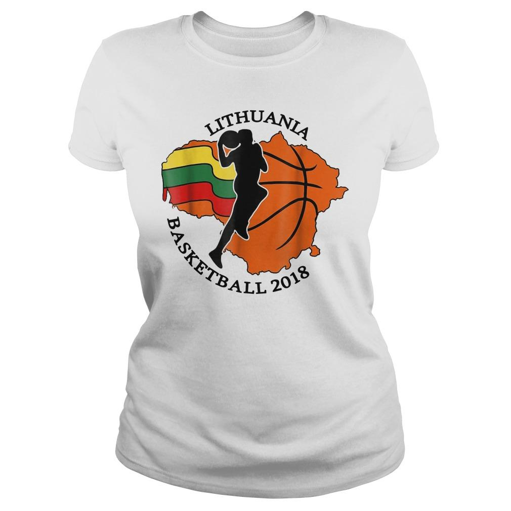 Lithuania Basketball Longsleeve
