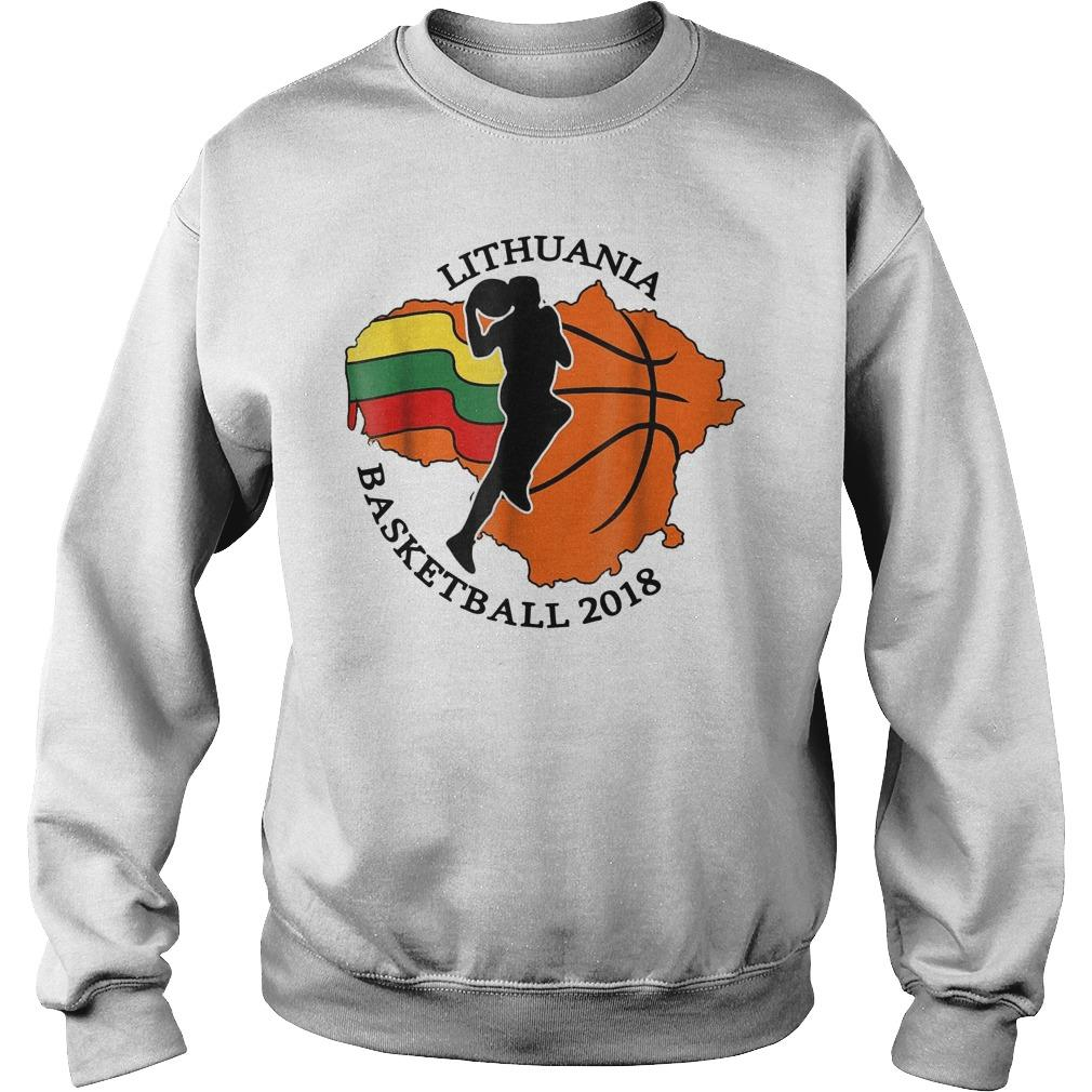 Lithuania Basketball Sweater
