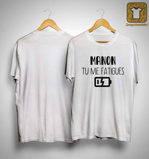 Manon Tu Me Fatigues Shirt