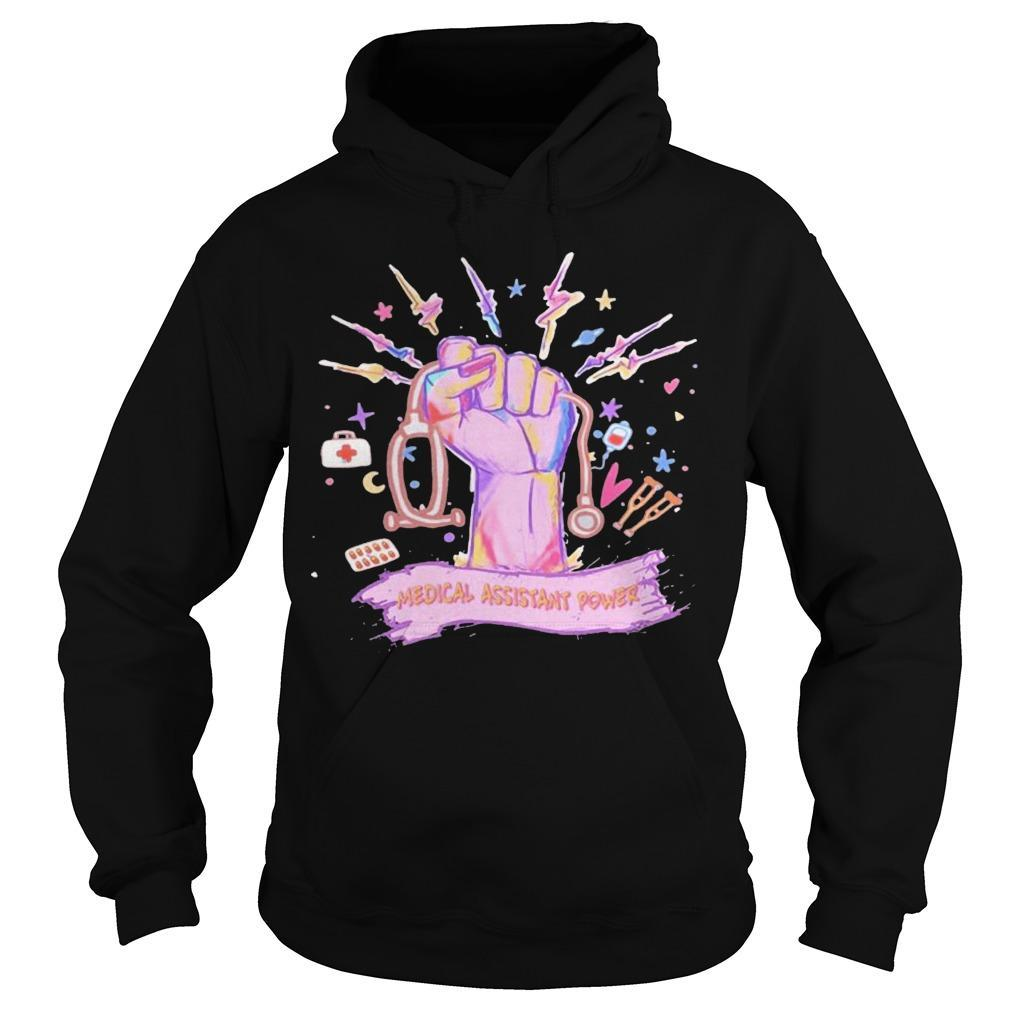 Medical Assistant Power Hoodie