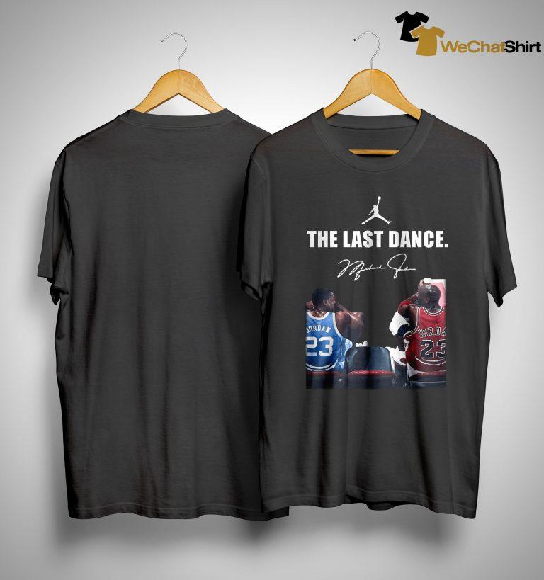 Michael Jordan Signature The Last Dance Shirt