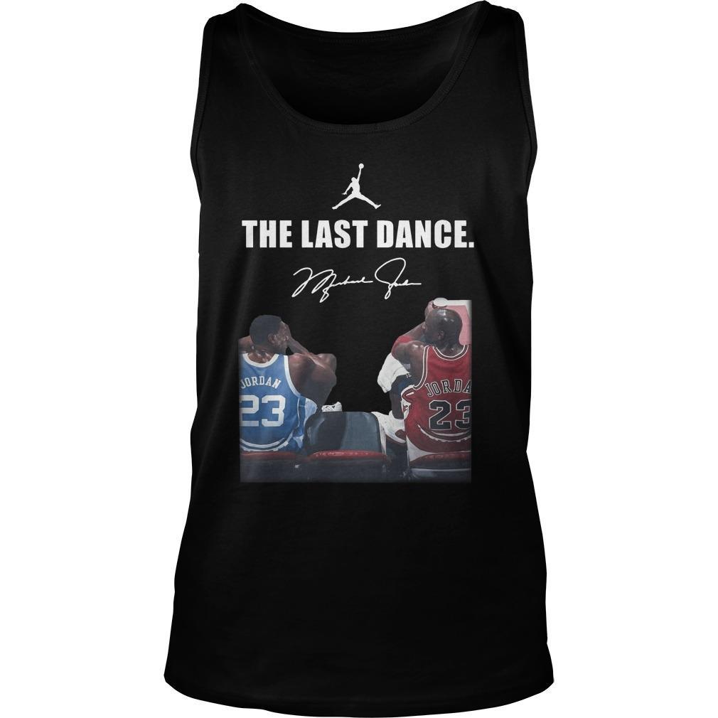 Michael Jordan Signature The Last Dance Tank Top