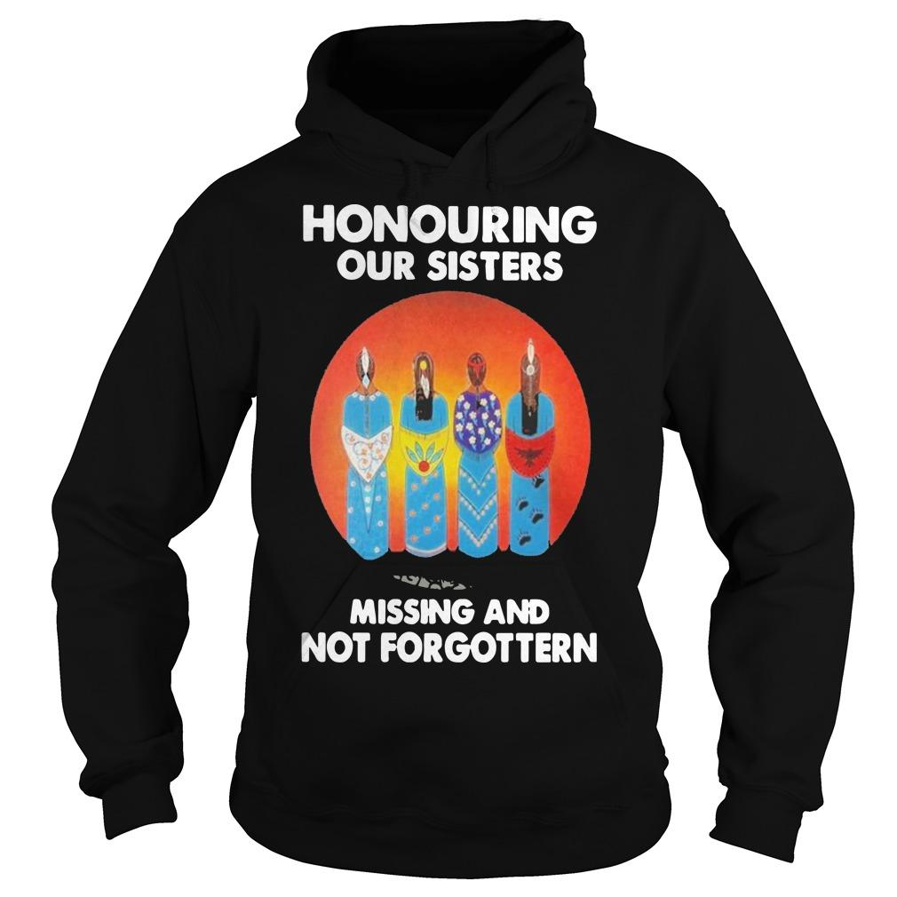 Moon Honouring Our Sisters Missing And Not Forgottern Hoodie
