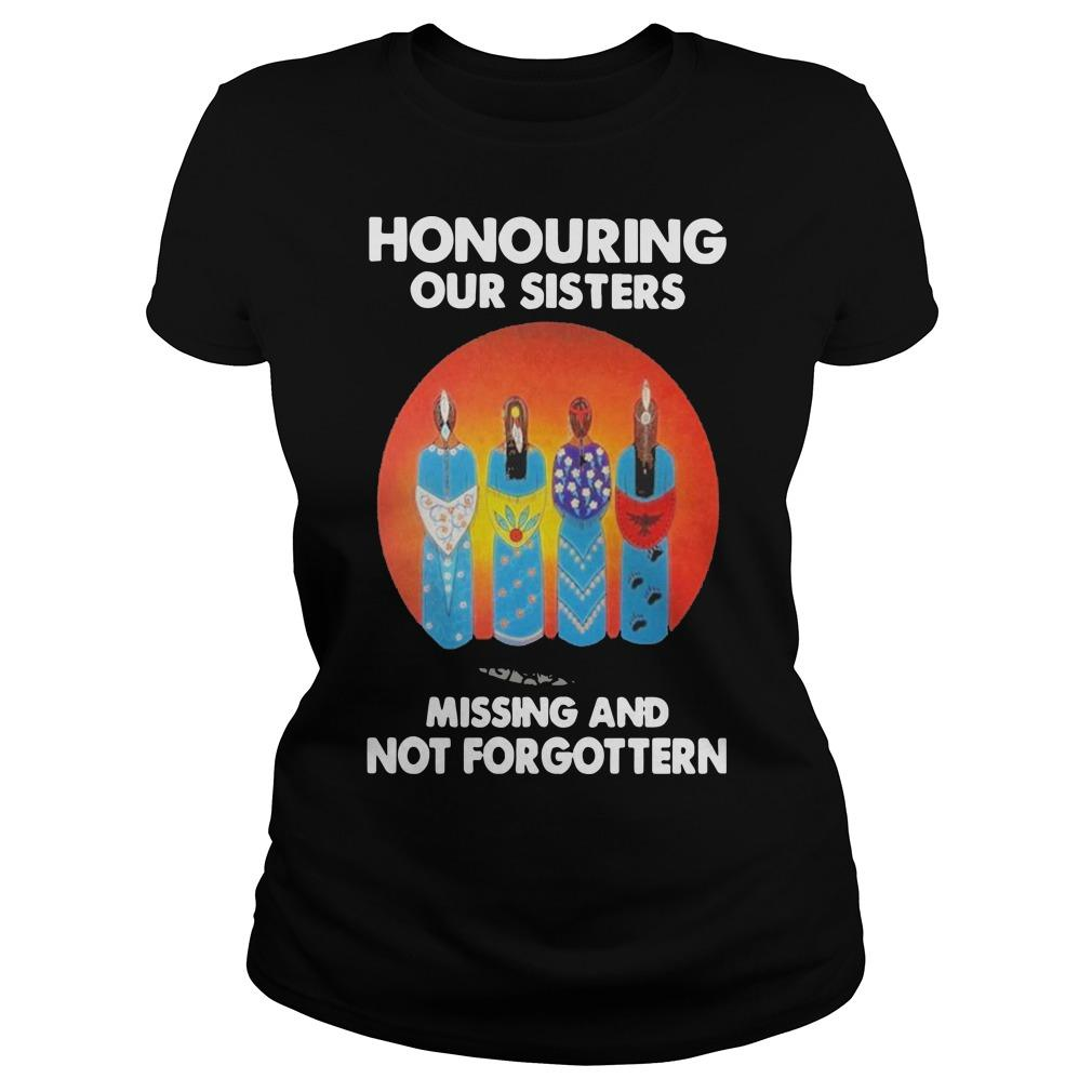 Moon Honouring Our Sisters Missing And Not Forgottern Longsleeve
