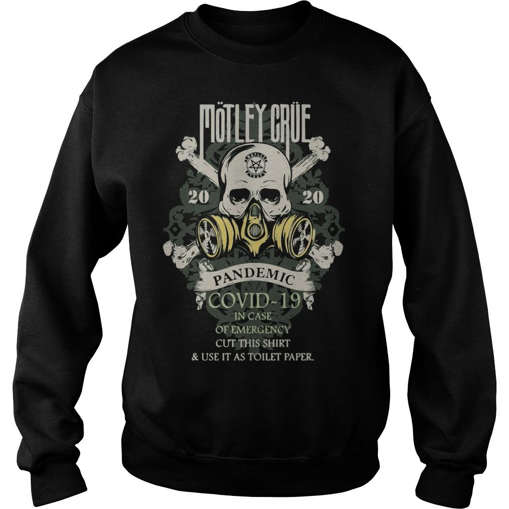 Motley Crue 2020 Pandemic Covid 19 Sweater