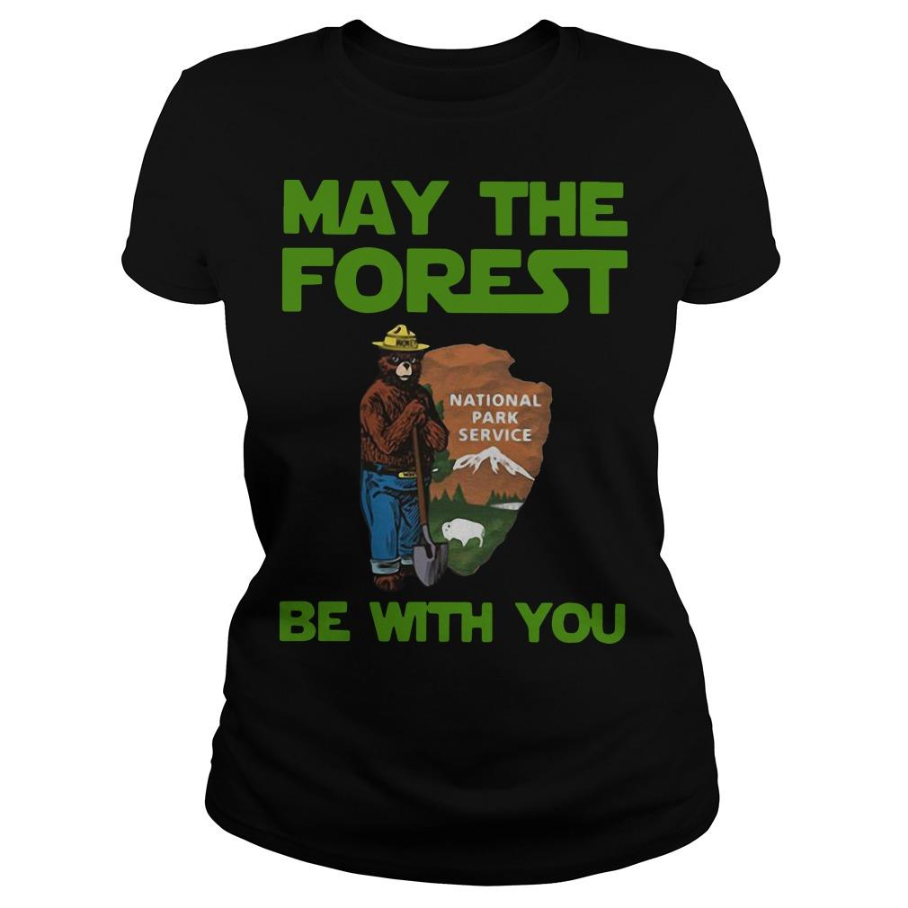 National Park Service May The Forest Be With You Longsleeve