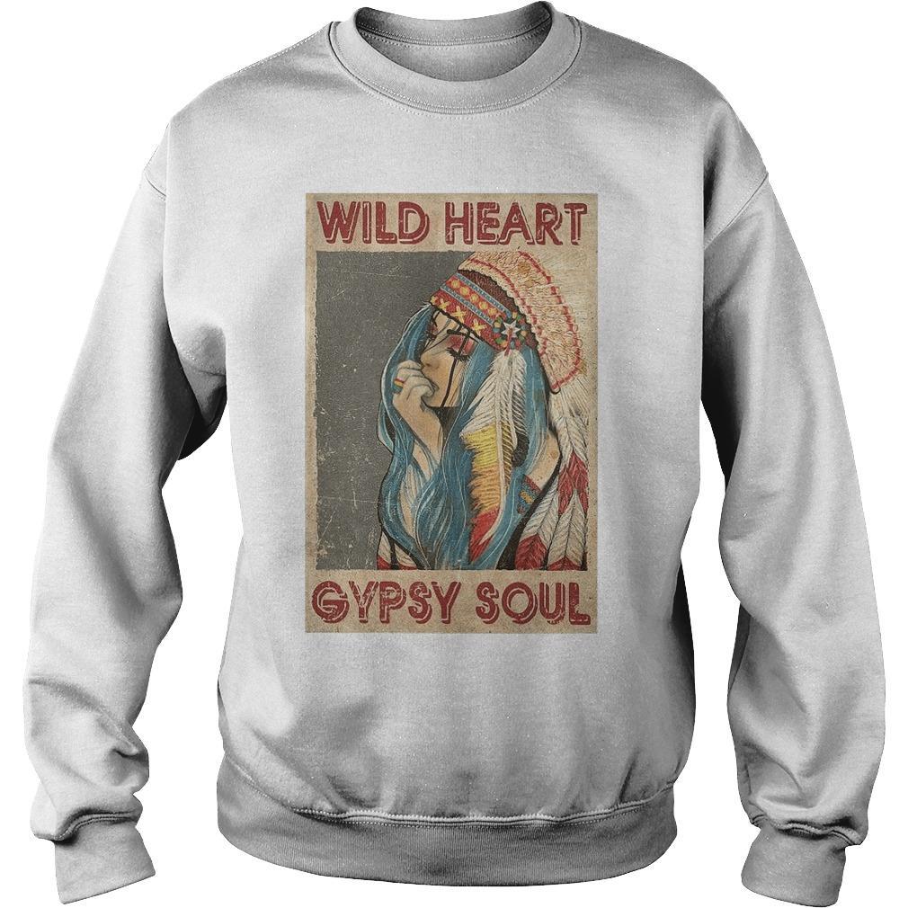 Native Girl Wild Heart Gypsy Soul Sweater