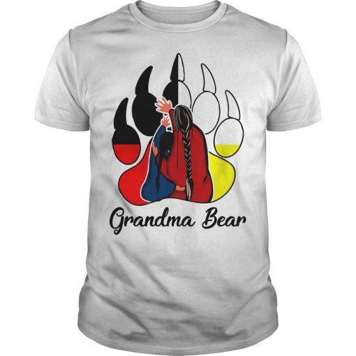 Native Grandma Bear Shirt