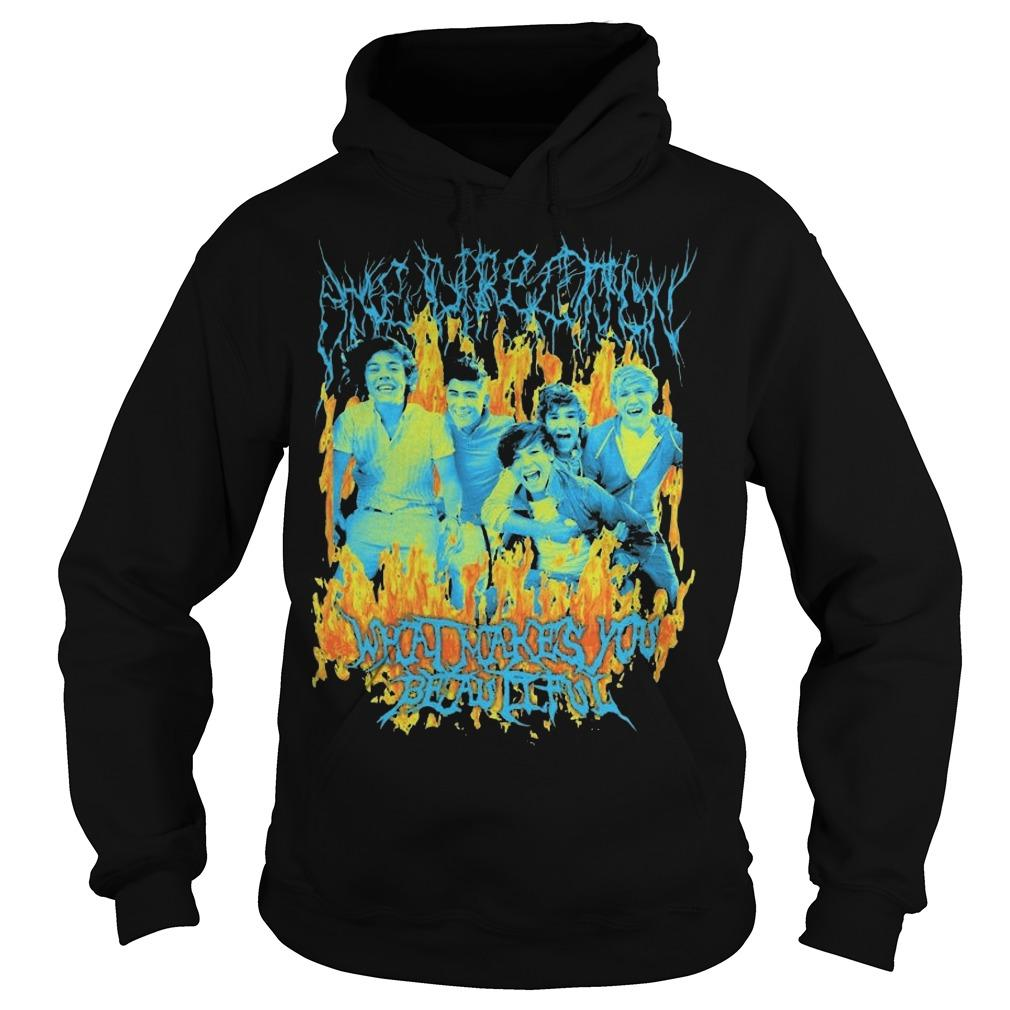 One Direction What Makes You Beautiful Hoodie