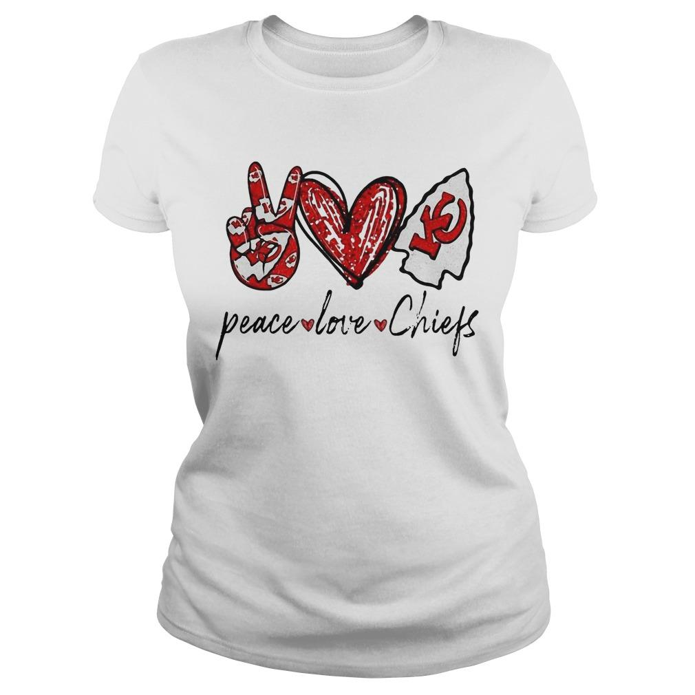 Peace Love Chiefs Longsleeve