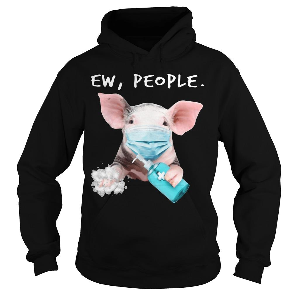 Pig Face Mask Ew People Hoodie