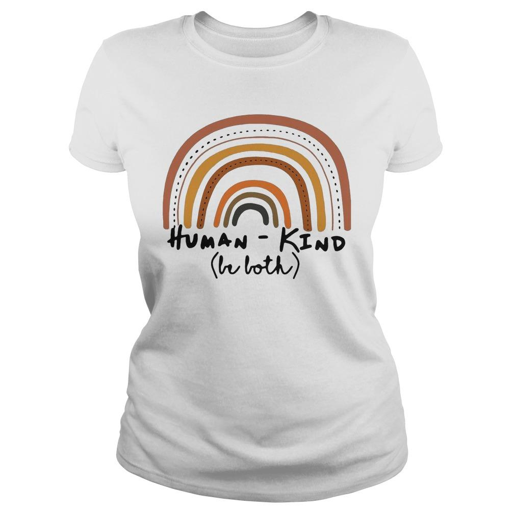 Rainbow Human Kind Be Both Longsleeve
