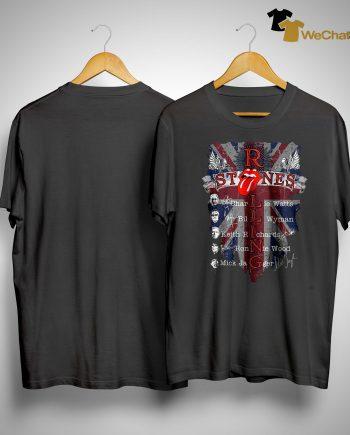 Rolling Stones Charlie Watts Bill Wyman Keith Richards Shirt